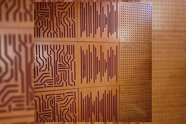 مقاومت امواج صوتي، كاهش انتشار صوت (اكوستيك) در چوب